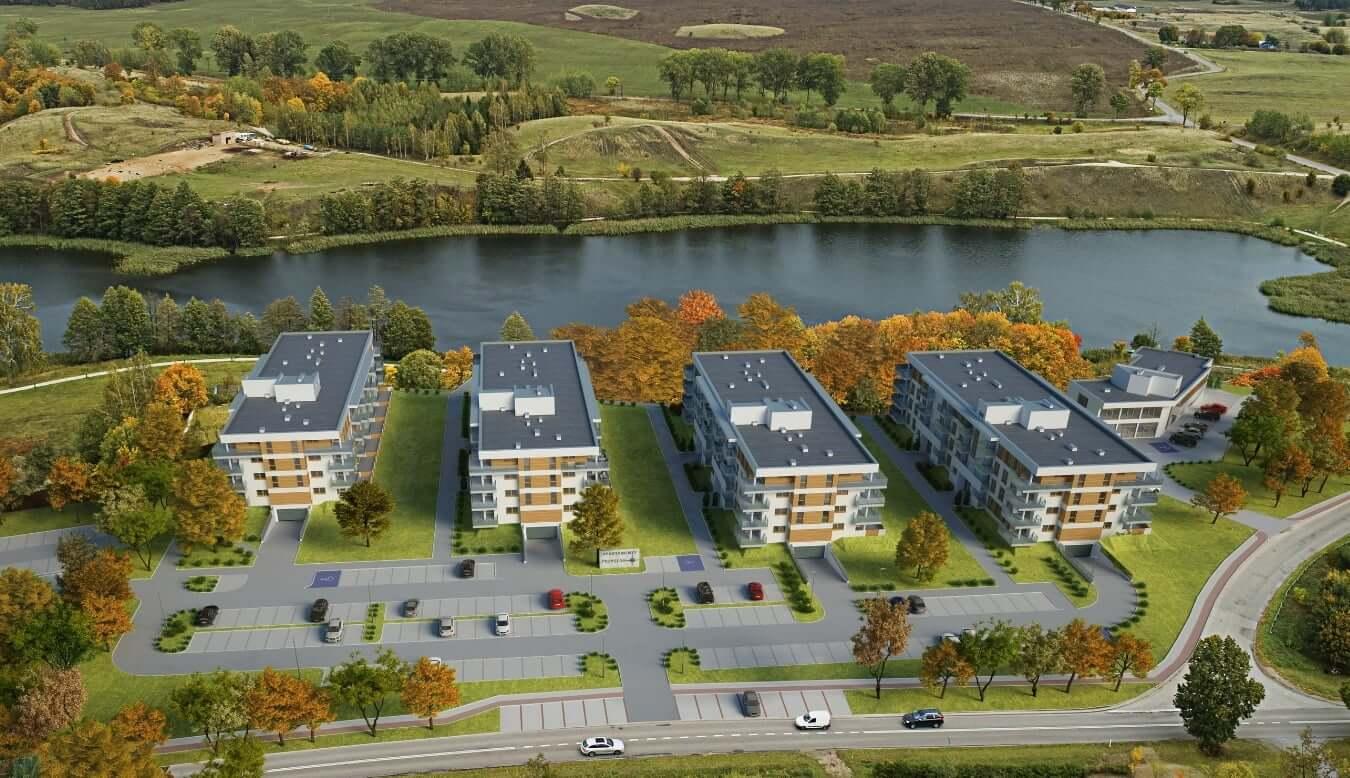 apartamenty przystan nad jeziorem